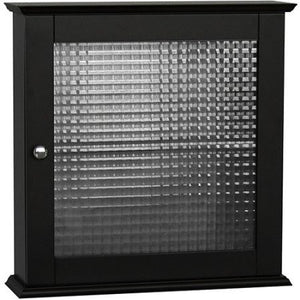 Torino Medicine Cabinet with Glass Door, Espresso - Shopatronics