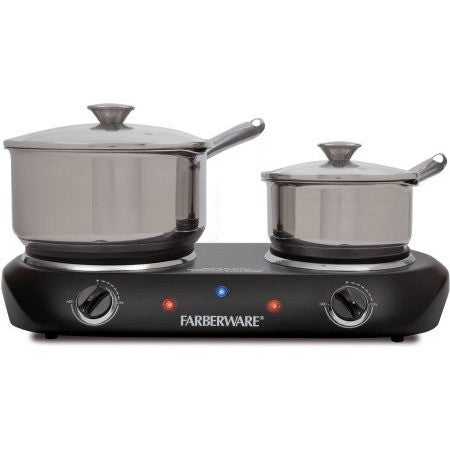 Farberware Double Burner - Shopatronics - One Stop Shop. Find the Best Selling Products Online Today