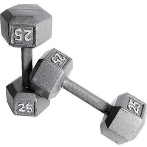 CAP Barbell Cast Iron Hex Dumbbell, Single - Shopatronics - One Stop Shop. Find the Best Selling Products Online Today