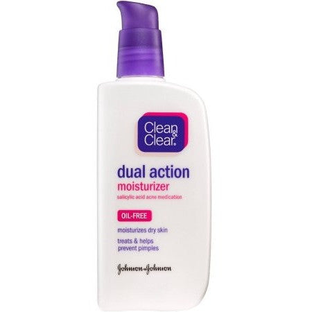 Clean & Clear Dual Action Moisturizer, Oil Free Moisturizers, 4 fl oz - Shopatronics - One Stop Shop. Find the Best Selling Products Online Today