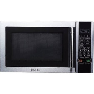 Magic Chef 1.1 cu. ft. Digital Microwave, Stainless Steel, MCM1110ST - Shopatronics