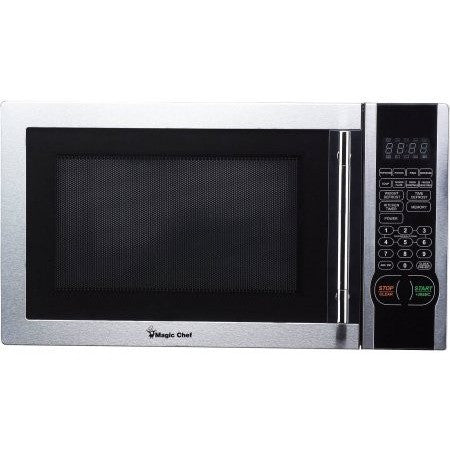 Magic Chef 1.1 cu. ft. Digital Microwave, Stainless Steel, MCM1110ST - Shopatronics - One Stop Shop. Find the Best Selling Products Online Today