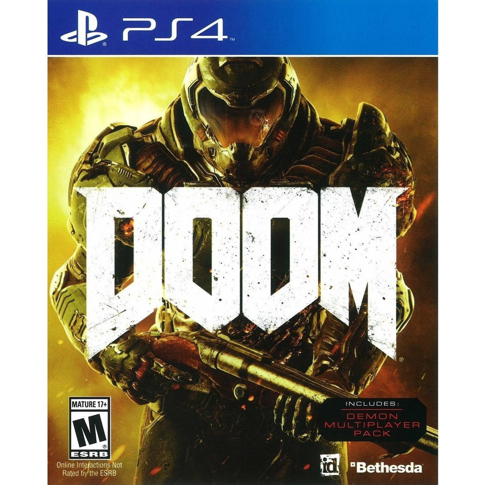 Doom (PS4) - Shopatronics