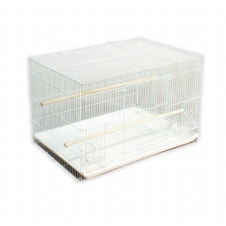 Prevue Pet Products Flight Bird Cage, White, 1ct - Shopatronics