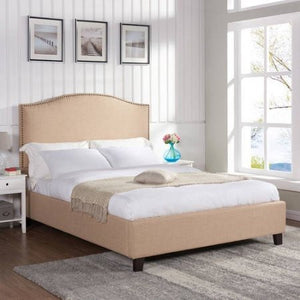 Better Homes and Gardens Grayson Queen Bed, Oatmeal - Shopatronics - One Stop Shop. Find the Best Selling Products Online Today