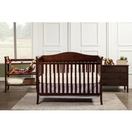 Baby Mod Bella Crib and 3 Drawer Dresser Set with BONUS Changing Table, Espresso - Shopatronics - One Stop Shop. Find the Best Selling Products Online Today