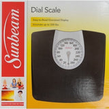 Sunbeam Dial Floor Scale, SAB602DQ-05 - Shopatronics