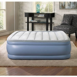 Simmons Beautyrest Hi Loft Raised Air Bed Mattress with Express Pump, Multiple Sizes - Shopatronics
