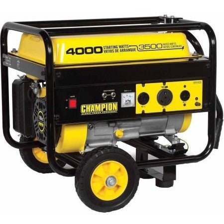 Champion Power Equipment 46597 3500 Watt RV Ready Portable Generator with Wheel Kit - Shopatronics - One Stop Shop. Find the Best Selling Products Online Today