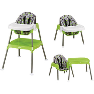 Evenflo - Convertible High Chair, Dottie Lime - Shopatronics