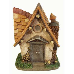 "Echo Valley 6294 10"" Crooked Creations Tudor Solar Home - Shopatronics"