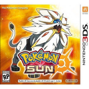 Pokemon Sun (Nintendo 3DS) - Shopatronics