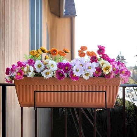 Sun Joe Flower Box Holder, Black - Shopatronics - One Stop Shop. Find the Best Selling Products Online Today