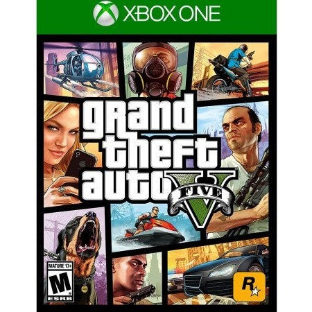 Grand Theft Auto V (Xbox One) - Shopatronics