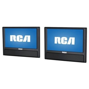 "RCA 9"" Dual Screen Mobile DVD Player - Shopatronics"