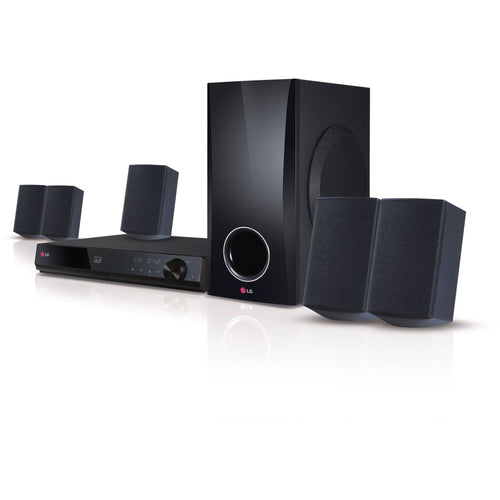 LG Home Theater System 5.1ch 500W 3D-Capable Blu-ray Disc with Smart TV (BH5140S) - Shopatronics