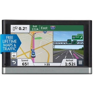 "Garmin Refurbished Nuvi 2597LMT 5"" GPS with Free Lifetime Map and Traffic Updates - Shopatronics"
