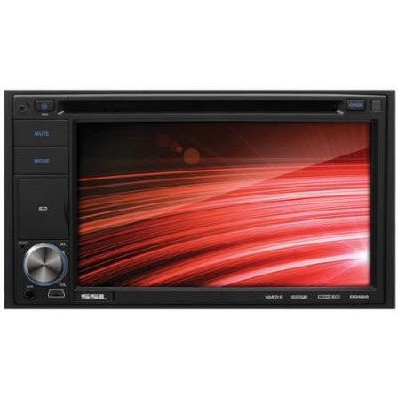 "Ssl Dd660 Car Dvd Player - 6.2"" Touchscreen Lcd - Double Din - Dvd Video, Video Cd, Mp4, Mpeg, Avi - Am, Fm - Secure Digital [sd], Multimediacard [mmc] - Auxiliary Input - 2 X Usb - (dd660) - Shopatronics - One Stop Shop. Find the Best Selling Products Online Today"