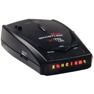Whistler XTR-130 Radar/Laser Detector with Super-Bright Icon Display - Shopatronics