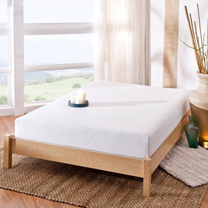 "Spa Sensations 8"" Memory Foam Mattress, Multiple Sizes - Shopatronics"