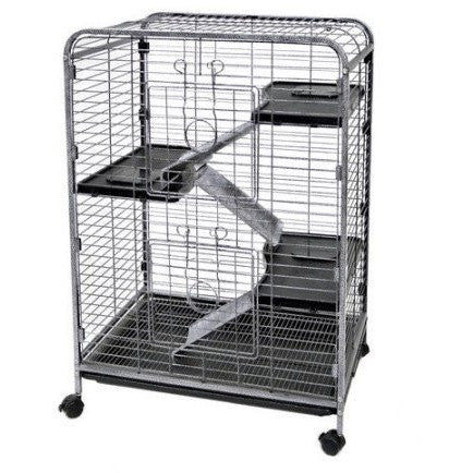 Ware Manufacturing Home Sweet Home 4-Level Small Animal Cage - Shopatronics