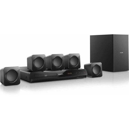 Philips 5.1ch Home Theater 3D Blu-ray (HTB3524) Refurbished - Shopatronics