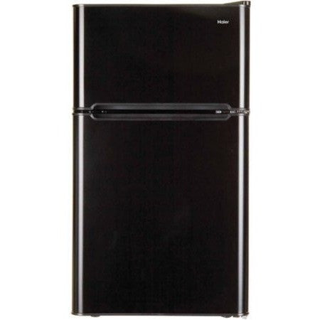 Haier 3.2 cu ft 2-Door Refrigerator, Black - Shopatronics - One Stop Shop. Find the Best Selling Products Online Today