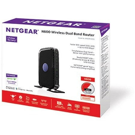 NETGEAR N600 Dual Band WiFi Router (WNDR3400) - Shopatronics - One Stop Shop. Find the Best Selling Products Online Today