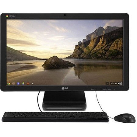 "LG Black Chromebase All-in-One Desktop PC with Intel Celeron 2955U Processor, 2GB Memory, 22"" Monitor, 16GB Hard Drive and Chrome OS - Shopatronics - One Stop Shop. Find the Best Selling Products Online Today"