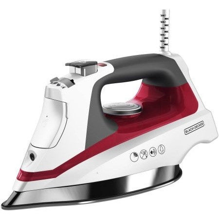 BLACK + DECKER Allure Professional Steam Iron, D3033R - Shopatronics - One Stop Shop. Find the Best Selling Products Online Today