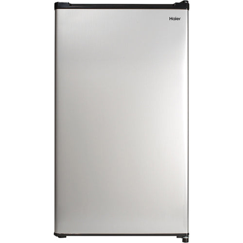 Haier 2.7 cu ft Refrigerator, Virtual Steel - Shopatronics