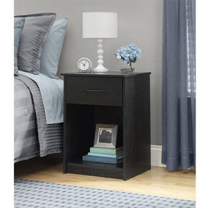 Mainstays Nightstand/End Table, Multiple Finishes - Shopatronics