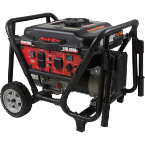Raven 4000-Watt Generator with Wheel Kit - Shopatronics