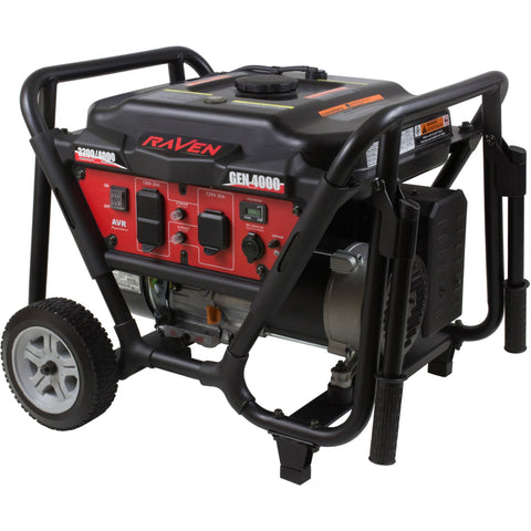 Raven 4000-Watt Generator with Wheel Kit - Shopatronics - One Stop Shop. Find the Best Selling Products Online Today