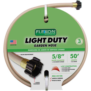 Expert Gardener 50' Light-Duty Garden Hose - Shopatronics