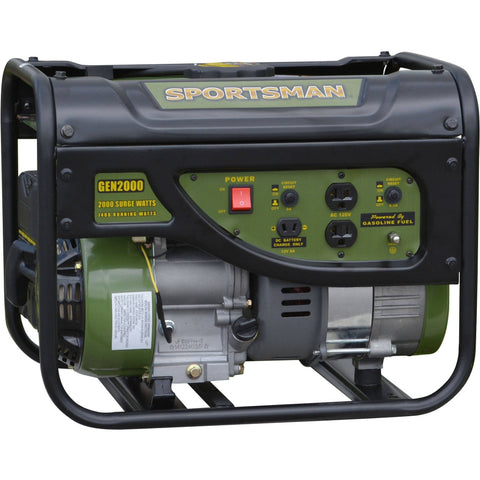 Sportsman Gasoline 2000W Portable Generator - Shopatronics - One Stop Shop. Find the Best Selling Products Online Today