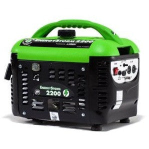 Lifan Energy Storm ES2200sc, 1800 Running Watts/2200 Starting Watts, Gas Powered Portable Generator - Shopatronics