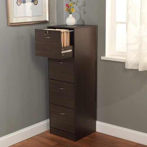 Wilson 4-Drawer Filing Cabinet - Shopatronics