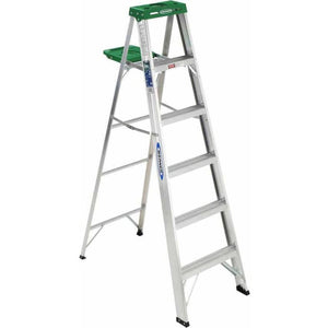 Werner 356 6' Aluminum Step Ladder - Shopatronics
