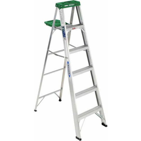 Werner 356 6' Aluminum Step Ladder - Shopatronics - One Stop Shop. Find the Best Selling Products Online Today