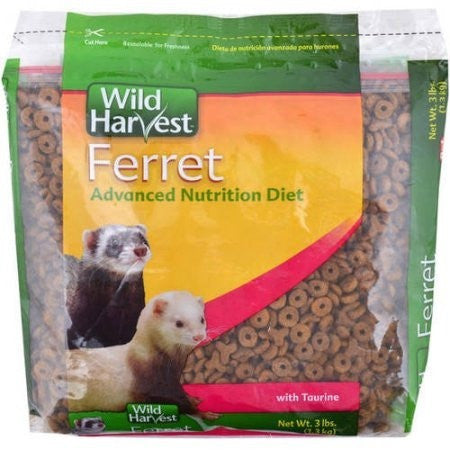 Wild Harvest 3lb Ferret Food - Shopatronics