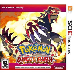 Pokemon Omega Ruby (Nintendo 3DS) - Shopatronics