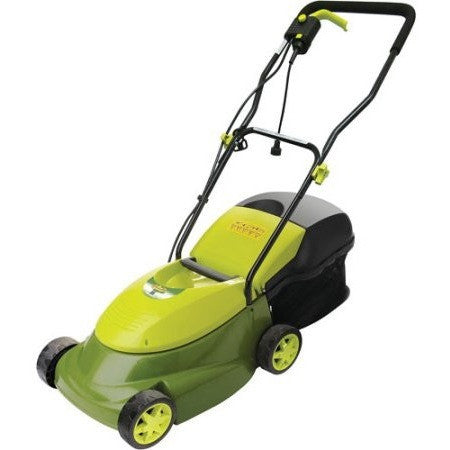 "Sun Joe Mow Joe 14"" Electric Lawn Mower w/ Grass Box – MJ401E - Shopatronics - One Stop Shop. Find the Best Selling Products Online Today"