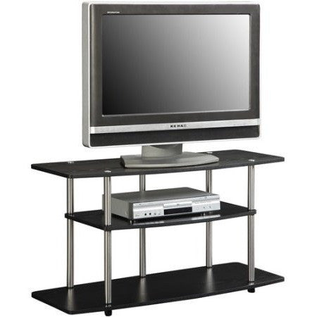 "Designs 2 Go TV Stand, for TVs up to 42"" by Convenience Concepts, Multiple Colors - Shopatronics"