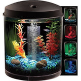 Hawkeye 2 Gallon 360 Starter Aquarium Kit with LED Lighting - Shopatronics