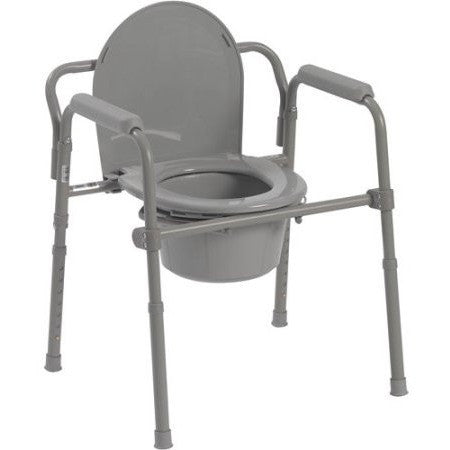 Drive Medical Steel Folding Bedside Commode - Shopatronics - One Stop Shop. Find the Best Selling Products Online Today