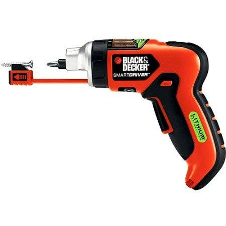 Black & Decker Lithium-Ion SmartDriver with Exclusive Magnetic Screw-Holder - Shopatronics - One Stop Shop. Find the Best Selling Products Online Today