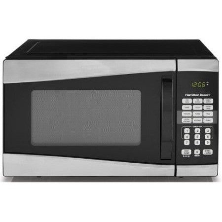 Hamilton Beach 0.9 cu ft 900W Microwave, Stainless Steel - Shopatronics