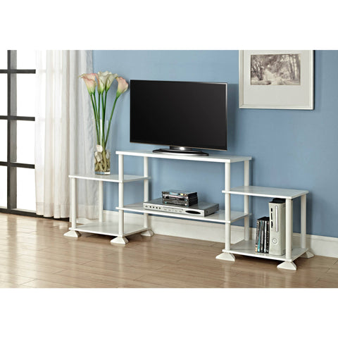 "Mainstays No Tools 3-Cube Storage Entertainment Center for TVs up to 40"", Multiple Colors - Shopatronics - One Stop Shop. Find the Best Selling Products Online Today"