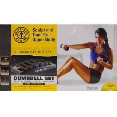 Gold's Gym Dumbbell Power Set - Shopatronics
